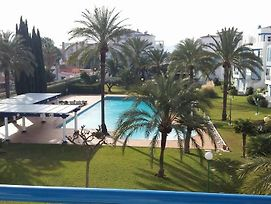 Apartment With 2 Bedrooms In Denia, With Pool Access, Enclosed Garden And Wifi - 100 M From The Beac photos Exterior