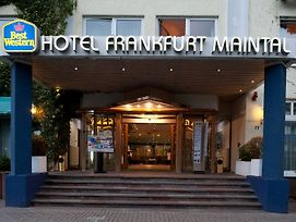 Best Western Hotel Frankfurt Maintal photos Exterior