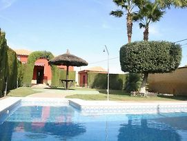 Villa With One Bedroom In Sanlucar La Mayor, With Private Pool And Fur photos Exterior