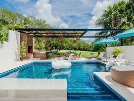 Luxury Pool & Beach House At The Mayan Riviera photos Exterior