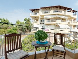 Two-Bedroom Apartment With Wonderful Sea View In Neos Marmaras, Chalki photos Exterior