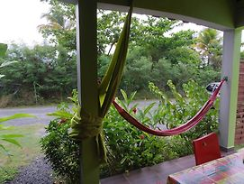 Bungalow With One Bedroom In Guadeloupe, With Pool Access, Enclosed Ga photos Exterior