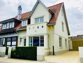Luxury Villa In De Haan Near Sea Beach photos Exterior