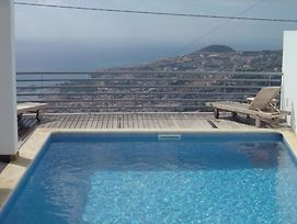 Villa With 3 Bedrooms In Funchal, With Wonderful Sea View, Private Poo photos Exterior