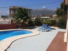 Villa With 2 Bedrooms In Calpe, With Wonderful Sea View, Private Pool, photos Exterior