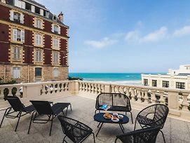 Seafront Apartment With Large Terrace And Parking In Biarritz photos Exterior