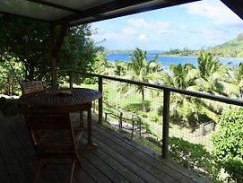Blue Lagoon Lodge Huahine Cottage Vue Mer Et Acces Prive Lagon photos Exterior