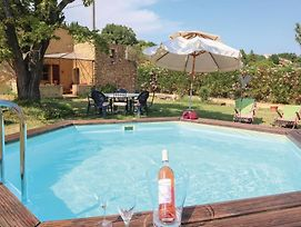 Beautiful Home In St Paulet De Caisson W/ Wifi, Outdoor Swimming Pool And 1 Bedrooms photos Exterior