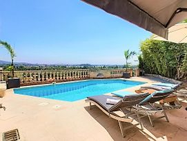 3 Bedrooms Villa Near Cannes - Pool & Jacuzzi photos Exterior