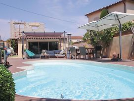 Beautiful Home In Les Angles Font D'Irac W/ Wifi, Outdoor Swimming Pool And 1 Bedrooms photos Exterior