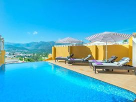 Orba Villa Sleeps 8 Pool Air Con Wifi photos Exterior