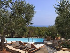 Gagliano Del Capo Villa Sleeps 8 Pool Air Con Wifi photos Exterior