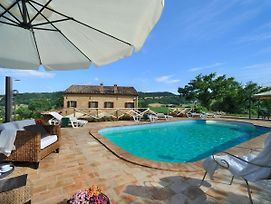 San Ginesio Villa Sleeps 12 With Pool And Wifi photos Exterior
