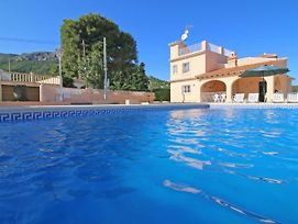 Calpe Villa Sleeps 11 With Pool Air Con And Wifi photos Exterior