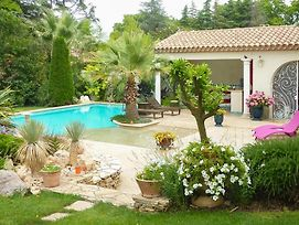 Pezenas Villa Sleeps 9 With Pool Air Con And Wifi photos Exterior