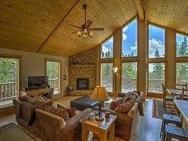 Log Cabin In The Woods W/Game Room & Mtn-View Deck photos Exterior