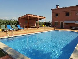 Fornells De La Selva Villa Sleeps 16 Pool Air Con photos Exterior