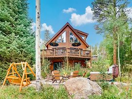 "New Listing! ""Columbine Rock Lodge"" W/ Hot Tub Home photos Exterior"