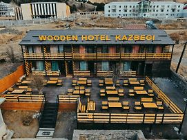 Wooden Hotel Kazbegi photos Exterior