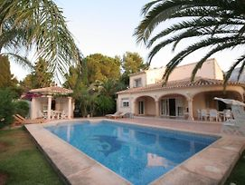 Luxurious Villa With Private Pool In Les Rotes photos Exterior