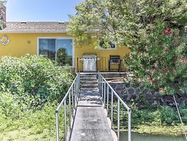 Waterfront House In Clearlake Oaks W/ Boat Dock! photos Exterior