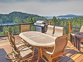 'Forever Views' Cozy Coeur D'Alene Home W/Hot Tub! photos Exterior