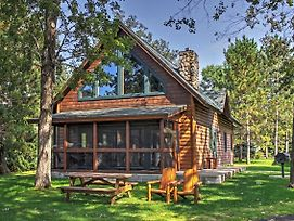 Nisswa Cabin On Gull Lake With Fireplace! photos Exterior