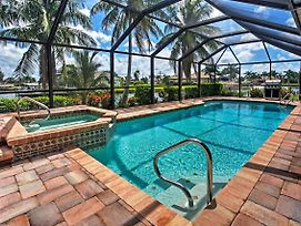 Newly Renovated 3Br Cape Coral House With Pool! photos Exterior