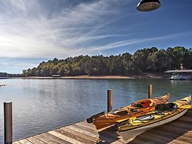 Anderson House W/ Private Dock On Lake Hartwell! photos Exterior