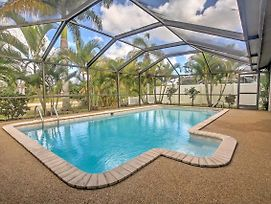 Central Cape Coral Home W/Dock On Freshwater Canal photos Exterior
