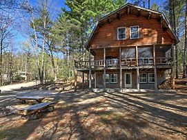 'Treehouse' Rustic Madison Cabin With Game Room, Deck photos Exterior