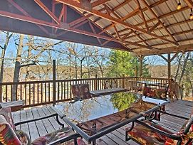 Waterfront House W/ Private Dock On Lake Eufaula! photos Exterior