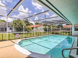 Charming Coconut Creek House W/Private Pool, Lanai photos Exterior