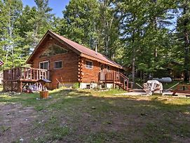 'Thunder Cove Cabin' Manistique Cabin W/Lake View! photos Exterior