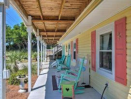 Colorful Emerald Isle House - 1 Block To Beach! photos Exterior