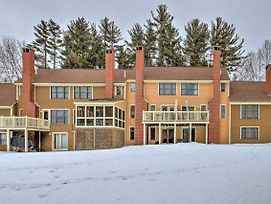 Family Townhome - 1 Mile From Cranmore Mountain! photos Exterior