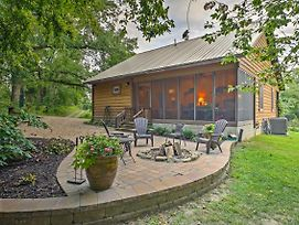 Makanda Cabin W/Deck In Shawnee National Forest! photos Exterior