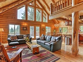 Log Home On 40 Private Acres By Mt Shasta Ski Park photos Exterior