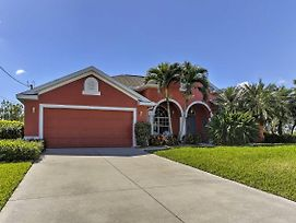 Spacious 3Br Cape Coral House Prvt Infinity Pool! photos Exterior