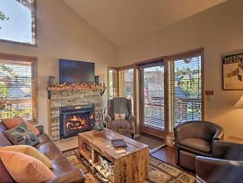 Ski-In/Ski-Out Breck Condo W/Wraparound Balcony! photos Exterior
