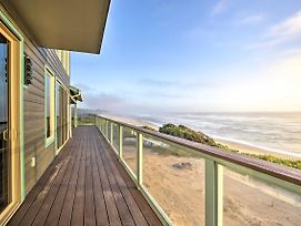 Oceanfront Home W/ Hot Tub+Sauna, 8 Mi. To Newport photos Exterior