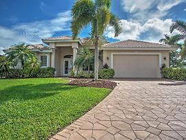 Calm Cape Coral Family Home With Private Heated Pool! photos Exterior