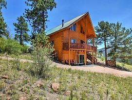Cripple Creek Cabin W/Wraparound Deck & Mtn Views! photos Exterior