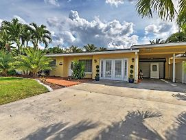 Fort Lauderdale House W/ Pool & Fishing Dock! photos Exterior
