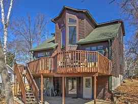 Crosslake House With Private Boat Landing And Deck! photos Exterior