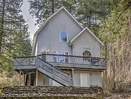 Private Coeur D'Alene House W/ River Views & Deck! photos Exterior