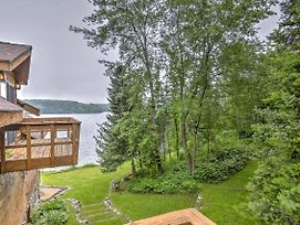Iron River House On Lake Chicagon W/ Sauna & Dock photos Exterior