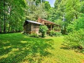 Private & Cozy 2Br Dobson Cabin On 6 Acres Of Land photos Exterior