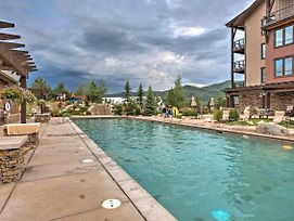 Steamboat Springs Resort Condo W/Pool & Spa Access photos Exterior