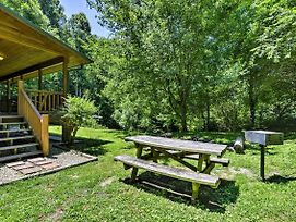 Bryson City Cabin W/Hot Tub & Fire Pit On Creek! photos Exterior